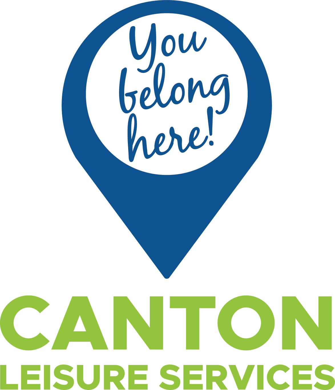 Canton Leisure Services You Belong Here Logo